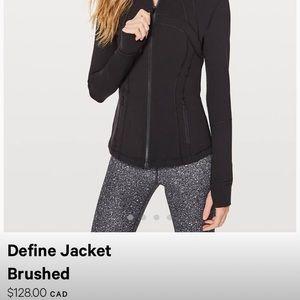 Jackets & Blazers - Lulu Lemon Define Jacket - Size 4